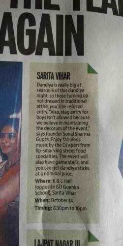 Ht city dandiya night 1